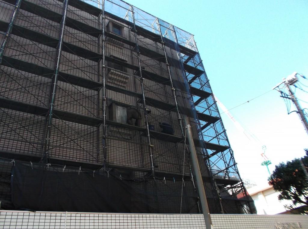 世田谷区桜新町マンション大規模修繕工事5